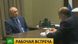 Путин встретился в Сочи с главой Кабардино-Балкарии