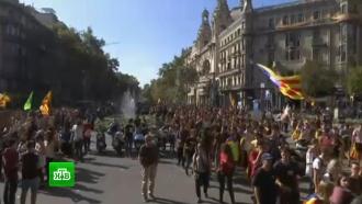 Глава Каталонии отменил выступление об ответных мерах на действия Мадрида