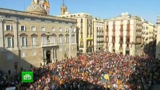 Глава Каталонии переложил решение о судьбе автономии на парламент