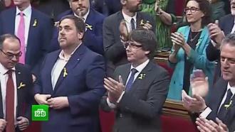Полиция и центральное телевидение Каталонии должны перейти под управление Мадрида