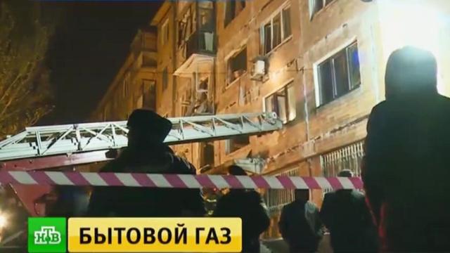 Спасатели устранили последствия мощного взрыва вцентре Донецка.Донецк, Украина, взрывы газа.НТВ.Ru: новости, видео, программы телеканала НТВ