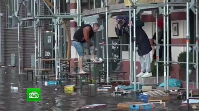 Пронесшийся по Европе убийственный ураган «Герварт» надвигается на Москву.Германия, стихийные бедствия, погода, Европа, Москва, Чехия, штормы и ураганы.НТВ.Ru: новости, видео, программы телеканала НТВ