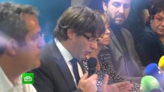 Пучдемон назвал условия своего возвращения в Каталонию