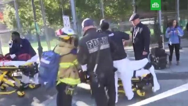 Мэр Нью-Йорка: число жертв теракта на Манхэттене возросло до 8.Нью-Йорк, США, оружие, полиция, стрельба.НТВ.Ru: новости, видео, программы телеканала НТВ