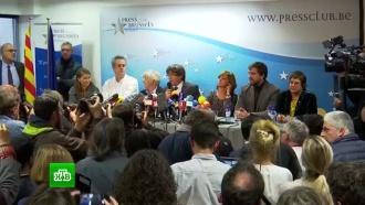 Каталонские чиновники дают показания в суде в Мадриде