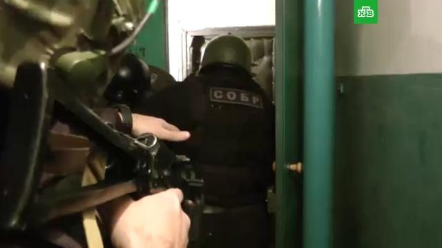 ФСБ опубликовала видео задержания экстремистов из «Артподготовки».ФСБ, задержание, обыски, экстремизм.НТВ.Ru: новости, видео, программы телеканала НТВ
