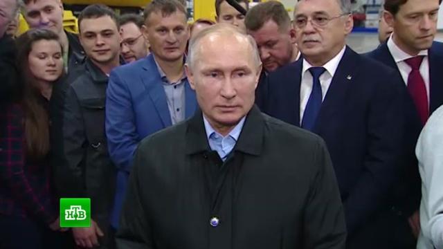 У Путина вызвала недоумение информация о царапинах на допинг-пробах россиян.допинг, Путин, спорт, Челябинск.НТВ.Ru: новости, видео, программы телеканала НТВ