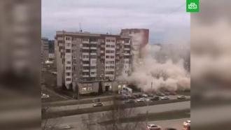 ВИжевске открыта горячая линия после обрушения части жилого дома