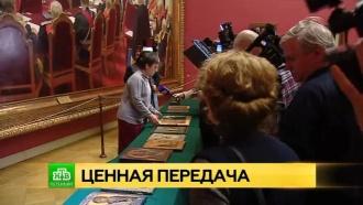 ВПетербурге контрабандные иконы получили музейную прописку