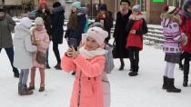 Путешествие Деда Мороза. Праздник вТомске.НТВ.Ru: новости, видео, программы телеканала НТВ
