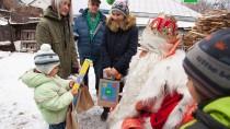 Путешествие Деда Мороза. Праздник вБарнауле.НТВ.Ru: новости, видео, программы телеканала НТВ