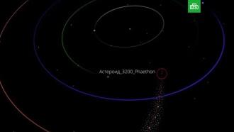 Российские ученые показали приближение кЗемле крупного астероида
