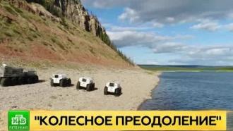 Петербургские экстремалы проколесили по труднопроходимым областям Русского Севера и Сибири
