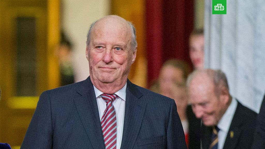 80-летнего короля Норвегии госпитализировали синфекцией