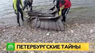 Археологи из Петербурга отреставрируют перевозившие гранит для набережных барки