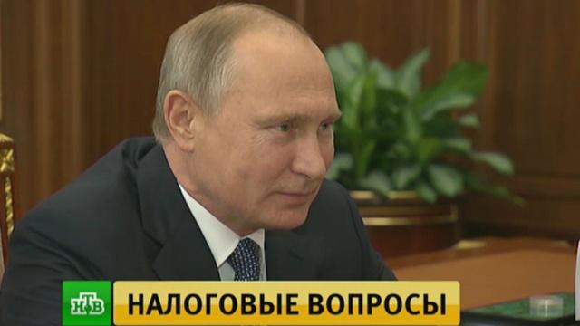 Глава ФНС рассказал Путину об инновациях вработе сналогоплательщиками.Интернет, Путин, бюджет РФ, инновации, налоги и пошлины, экономика и бизнес.НТВ.Ru: новости, видео, программы телеканала НТВ