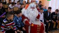 Путешествие Деда Мороза. Праздник вОмске.НТВ.Ru: новости, видео, программы телеканала НТВ