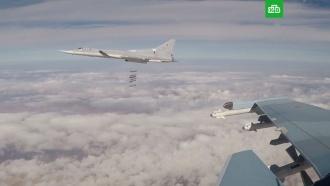 Шесть бомбардировщиков ВКС РФ нанесли удар по объектам ИГ в Сирии