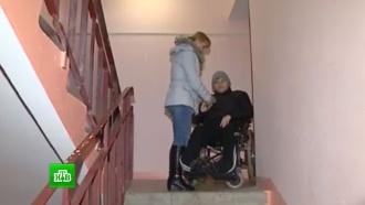Орловские чиновники установили вдоме <nobr>подростка-инвалида</nobr> неработающий подъемник