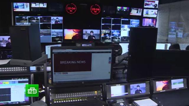 Лишение аккредитации журналистов RT в США назвали «простой формальностью».Госдума, санкции, СМИ, США.НТВ.Ru: новости, видео, программы телеканала НТВ