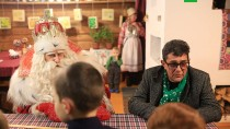 Путешествие Деда Мороза. Праздник вИжевске.НТВ.Ru: новости, видео, программы телеканала НТВ