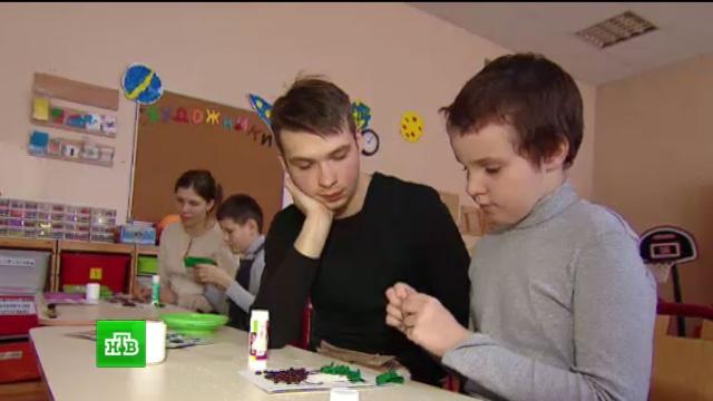 В инклюзивной московской школе учеников с аутизмом изолировали от других детей.Москва, дети и подростки, инвалиды, школы.НТВ.Ru: новости, видео, программы телеканала НТВ