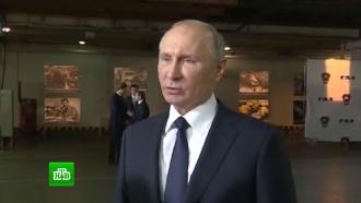 Путин объявил ополном разгроме ИГ на обоих берегах Евфрата вСирии