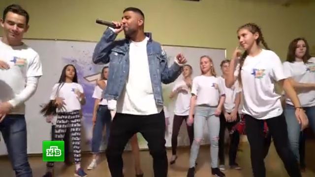 Певец Артём Качер поддержал участников «Ты супер! Танцы» перед полуфиналом.НТВ.Ru: новости, видео, программы телеканала НТВ
