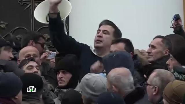 Михо-шоу: как экс-президента Грузии объявили «агентом Кремля».Киев, Порошенко, Саакашвили, Украина, задержание, митинги и протесты.НТВ.Ru: новости, видео, программы телеканала НТВ