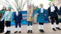 Путешествие Деда Мороза. Праздник вВолгограде.НТВ.Ru: новости, видео, программы телеканала НТВ