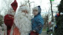 Путешествие Деда Мороза. Праздник вКраснодаре.НТВ.Ru: новости, видео, программы телеканала НТВ