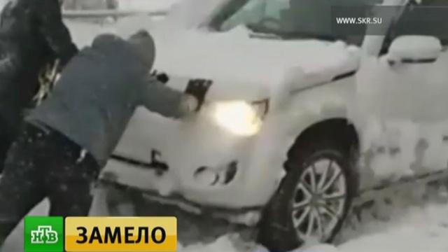 За сутки на Сахалине выпала половина месячной нормы осадков.Сахалин, аварии в ЖКХ, зима, погода, снег.НТВ.Ru: новости, видео, программы телеканала НТВ