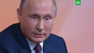 Путин: скандал вокруг российских спортсменов раздули к выборам