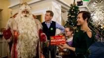 Путешествие Деда Мороза. Праздник вВоронеже.НТВ.Ru: новости, видео, программы телеканала НТВ