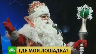 Дед Мороз исполнил новогодние желания маленьких петербуржцев