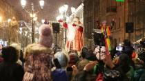 Путешествие Деда Мороза. Праздник вСанкт-Петербурге.НТВ.Ru: новости, видео, программы телеканала НТВ