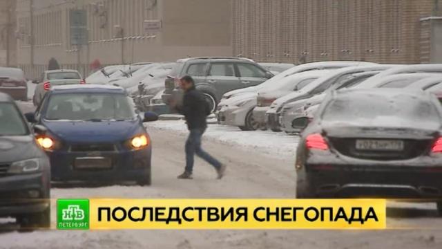 Петербург засыплет снегом и зальет дождем.Санкт-Петербург, зима, погода, снег.НТВ.Ru: новости, видео, программы телеканала НТВ