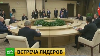 Главы стран СНГ подвели итоги года на встрече в Ново-Огарёве