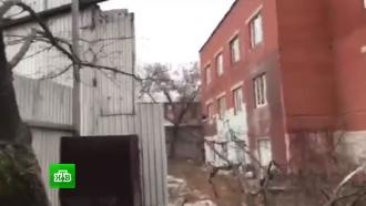 Полиция вошла вздание фабрики «Меньшевик», где произошла стрельба