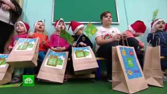 Команда НТВ привезла втульский интернат подарки от Деда Мороза