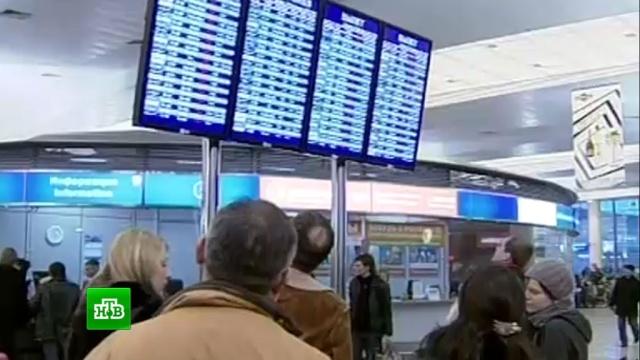 Ваэропортах Москвы из-за тумана задержаны десятки рейсов.авиация, аэропорты, Москва, погода, самолеты.НТВ.Ru: новости, видео, программы телеканала НТВ
