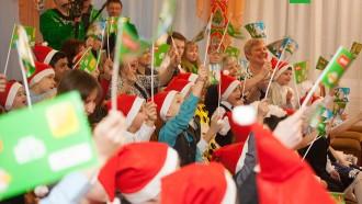 Путешествие Деда Мороза. Праздник вЧереповце.дети и подростки, Новый год, НТВ, благотворительность, торжества и праздники, подарки, Дед Мороз.НТВ.Ru: новости, видео, программы телеканала НТВ