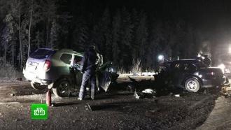 Автокатастрофа в ХМАО: шесть взрослых и четверо детей погибли на «трассе смерти»
