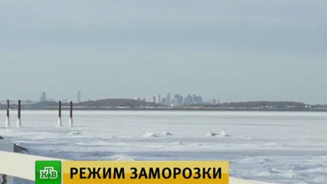 «Как водить в такую погоду?»: русская зима застала автомобилистов Флориды врасплох.Нью-Йорк, США, погодные аномалии, снег, школы.НТВ.Ru: новости, видео, программы телеканала НТВ