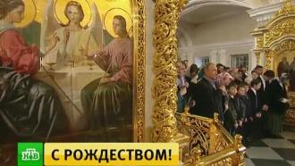 Более 5тысяч верующих со всей России встретили Рождество вхраме Христа Спасителя