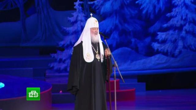 Сотни детей со всей России побывали на патриаршей елке вКремле.Москва, Рождество, дети и подростки, патриарх, торжества и праздники.НТВ.Ru: новости, видео, программы телеканала НТВ