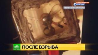 СМИ опубликовали фото сработавшей впетербургском супермаркете бомбы