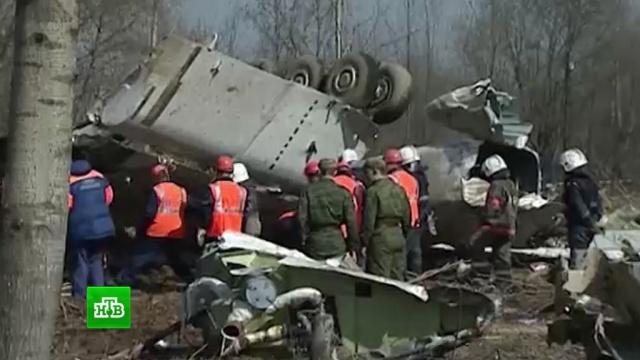 Эксперты объяснили, зачем вПольше разыгрывают карту взрыва на борту Ту-154.Качиньский, Польша, Смоленская область, авиационные катастрофы и происшествия, расследование.НТВ.Ru: новости, видео, программы телеканала НТВ