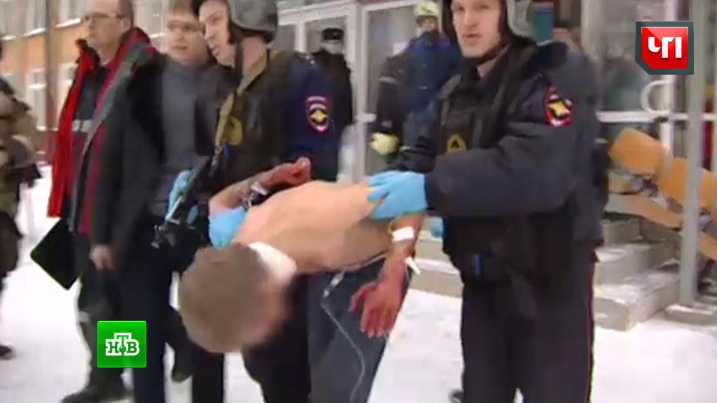 Резня впермской школе: нападавший пытался покончить ссобой после атаки