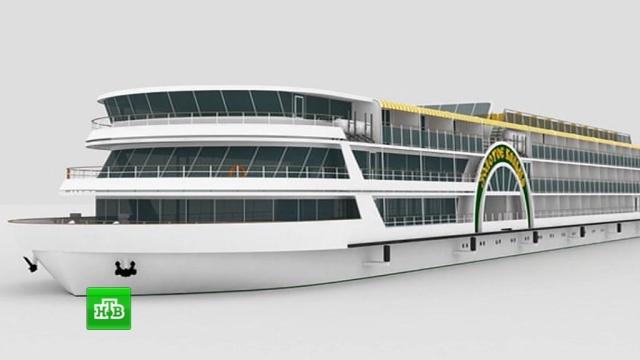 ВРоссии начали строить два колесных туристических теплохода икруизный лайнер.Астраханская область, корабли и суда.НТВ.Ru: новости, видео, программы телеканала НТВ